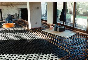Gabotherm podlahové topení